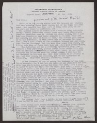 Letter from Katherine Anne Porter to Paul Porter Jr., May 12, 1954