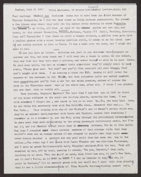 Letter from Katherine Anne Porter to Paul Porter Jr., July 21, 1963