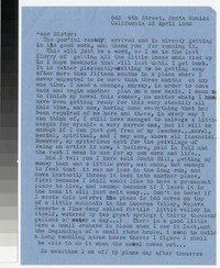 Letter from Katherine Anne Porter to Gay Porter Holloway, April 23, 1946