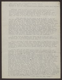 Letter from Katherine Anne Porter to Eugene Pressly, March 27, 1936