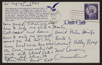 Letter from Katherine Anne Porter to David P. Heintze, August 25, 1961