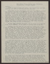 Letter from Katherine Anne Porter to Eugene Pressly, November 30, 1936