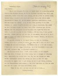 Letter from Katherine Anne Porter to Ford Maddox Ford and Janice Biala, January 21, 1936