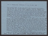 Letter from Katherine Anne Porter to Paul Porter Jr., July 19, 1960