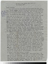 Letter from Katherine Anne Porter to Gay Porter Holloway, October 21, 1952