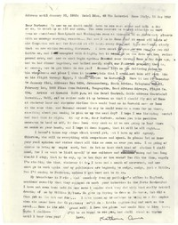 Letter from Katherine Anne Porter to Barbara Thompson Mueenuddin Davis, December 15, 1962