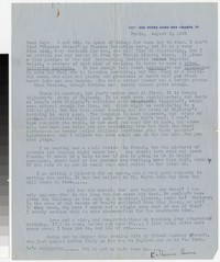 Letter from Katherine Anne Porter to Gay Porter Holloway, August 03, 1935