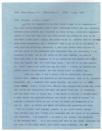 Letter from Katherine Anne Porter to William Humphrey, May 02, 1966