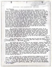 Letter from Katherine Anne Porter to Malcolm Cowley, October 13, 1942