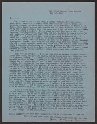 Letter from Katherine Anne Porter to Paul Porter Jr., May 19, 1942