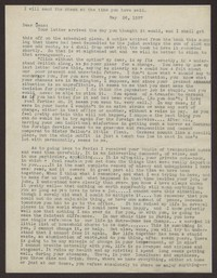 Letter from Katherine Anne Porter to Eugene Pressly, May 26, 1937