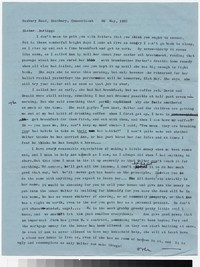 Letter from Katherine Anne Porter to Gay Porter Holloway, May 30, 1957