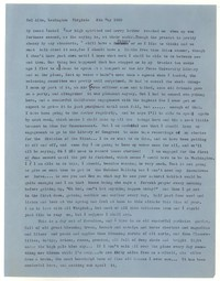 Letter from Katherine Anne Porter to Isabel Bayley, May 08, 1959