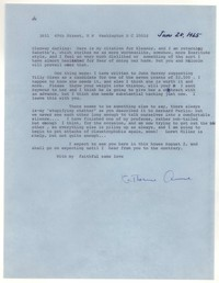 Letter from Katherine Anne Porter to Glenway Wescott, June 20, 1965