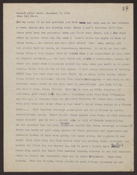 Letter from Katherine Anne Porter to Eugene Pressly, December 07, 1931