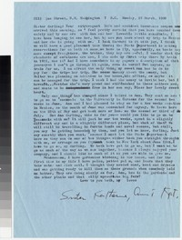 Letter from Katherine Anne Porter to Gay Porter Holloway, March 27, 1960