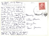 Letter from Katherine Anne Porter to Glenway Wescott, April 21, 1958