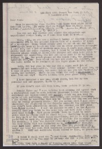 Letter from Katherine Anne Porter to Paul Porter Jr., December 07, 1951