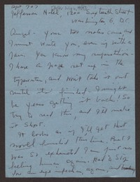 Letter from Katherine Anne Porter to Ann Holloway Heintze, after July 06, 1959