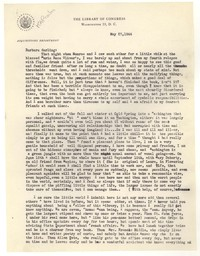 Letter from Katherine Anne Porter to Barbara Harrison Wescott, May 23, 1944