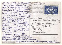 Letter from Katherine Anne Porter to Isabel Bayley and W. Hewitt Bayley, October 08, 1954
