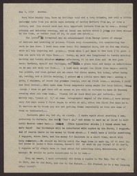 Letter from Katherine Anne Porter to Eugene Pressly, May 07, 1934