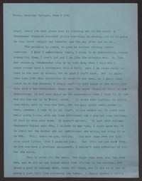 Letter from Katherine Anne Porter to Albert Erskine, June 09, 1941
