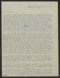 Letter from Katherine Anne Porter to Albert Erskine, September 11, 1940