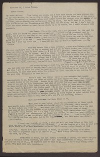 Letter from Katherine Anne Porter to Eugene Pressly, November 19, 1932