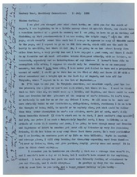 Letter from Katherine Anne Porter to Tinkum Brooks, July 15, 1958
