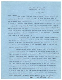 Letter from Katherine Anne Porter to Glenway Wescott, May 02, 1967