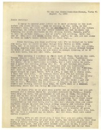 Letter from Katherine Anne Porter to Josephine Herbst, August 03, 1935