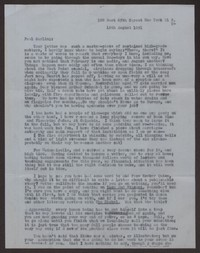 Letter from Katherine Anne Porter to Paul Porter Jr., August 16, 1951