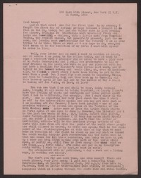 Letter from Katherine Anne Porter to Paul Porter Jr., March 21, 1952
