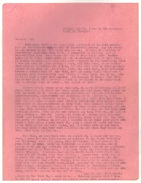 Letter from Katherine Anne Porter to Ernestine Evans, May 13, 1949