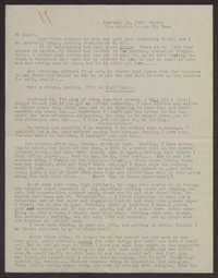Letter from Katherine Anne Porter to Albert Erskine, February 13, 1938