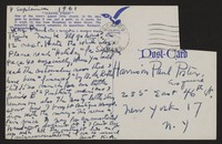 Letter from Katherine Anne Porter to Paul Porter Jr., September 04, 1961