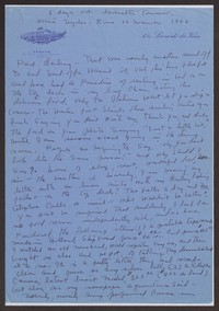 Letter from Katherine Anne Porter to Paul Porter Jr., November 10, before 1962
