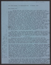 Letter from Katherine Anne Porter to Leo Porter, March 26, 1965
