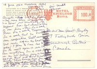 Letter from Katherine Anne Porter to Isabel Bayley and W. Hewitt Bayley, June 16, 1962