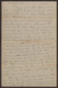 Letter from Katherine Anne Porter to Gay Porter Holloway, circa July 24, 1919