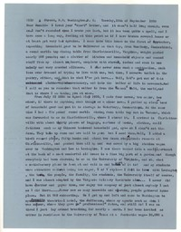 Letter from Katherine Anne Porter to Donald Elder, September 15, 1959