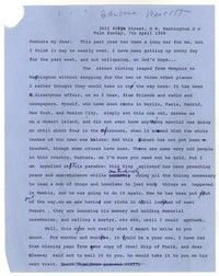 Letter from Katherine Anne Porter to Barbara Harrison Wescott, April 07, 1968
