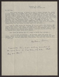 Letter from Katherine Anne Porter to Albert Erskine, January 18, 1938