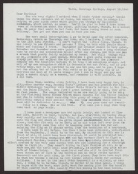 Letter from Katherine Anne Porter to Albert Erskine, August 19, 1940