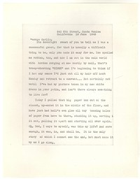Letter from Katherine Anne Porter to George Platt Lynes, June 19, 1946