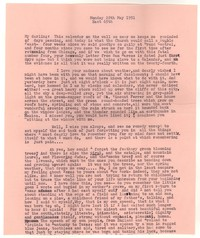 Letter from Katherine Anne Porter to William Goyen, May 28, 1951