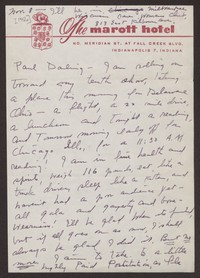 Letter from Katherine Anne Porter to Paul Porter Jr., November 08, 1956