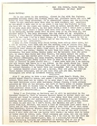 Letter from Katherine Anne Porter to Josephine Herbst, July 20, 1947