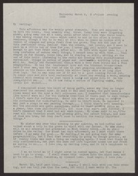 Letter from Katherine Anne Porter to Albert Erskine, March 09, 1938